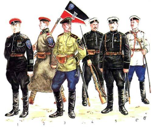 gragdanskaja voina jug 1918 1920