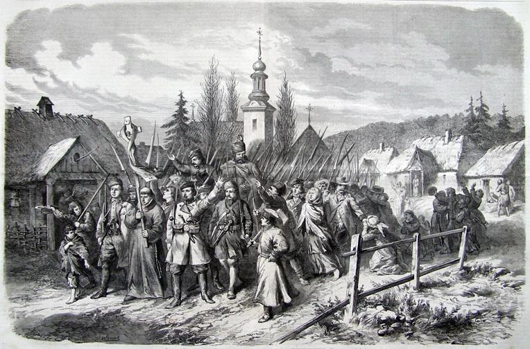 Социальные силы и религиозно-политические лозунги польского восстания 1863 г. в Северо-Западном крае Российской империи