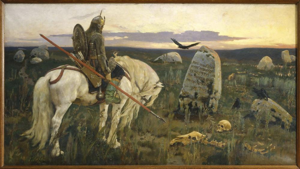 «Витязь на распутье» — картина Виктора Васнецова.