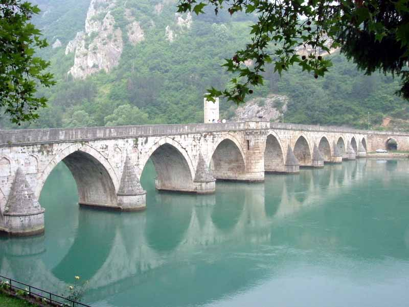 Visegrad bridge by Klackalica