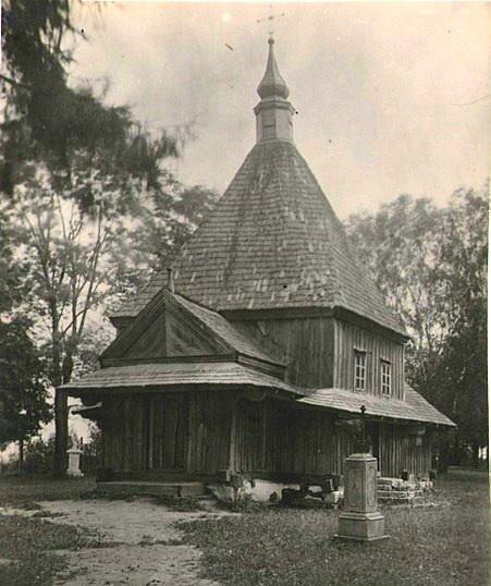 Церковь в Верешине в начале 20-го века (Холмщина)