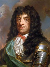 Польский король Ян II Казимир Ваза в парике (париками прикрывали сифилитические плеши)