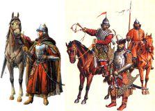 Русские войны 16 века (рисунок Игоря Дзыся)