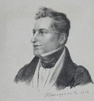 Илл. 1. А.Г. Венецианов.  Портрет Н.В. Гоголя. 1834.