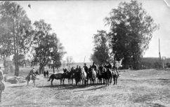 Разъезд казаков возле Молодечно. Сентябрь 1915 г.