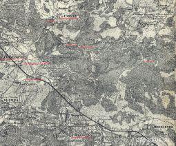 4. Лебедево и Ганута. Карта местности (масштабируется при нажатии на стрелку под изображением)