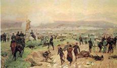 Дмитриев-Оренбургский «Бой под Плевной 27 августа 1877 года», (1883)