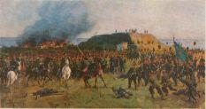 А.Д. Кившенко (1851-1895) - Взятие Горного Дубняка (Горни Дыбник) в Болгарии. 1877