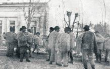 Второй Мараморош-Сиготский Процесс. Обвиняемые на улице перед зданием суда.