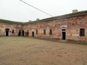 Блок-А в «Малой крепости», где размещалась основная масса интернированных русин.