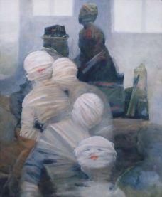 Мумии. Польский художник Ярослав Микласевич, 2003.