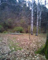 Второй уровень кладбища.