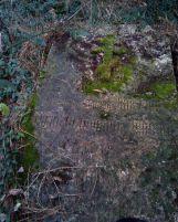 Надгробие генерал-майора Виктора Александровича Лишева (1854-1927), который упоминается в переписке Льва Толстого.