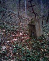 Надгробие на Русском кладбище в Шипке. На камне еще можно разобрать фамилию – Закладин…