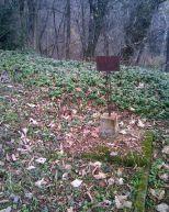 Надгробие на Русском кладбище в Шипке