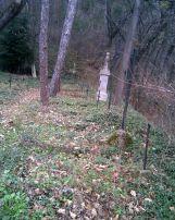 Первый уровень Русского кладбища в Шипке. До 1935 г. там хоронили генералов.