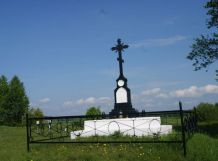 Памятник русским солдатам под Миловидами.