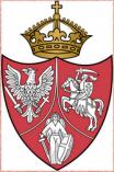 Герб восстания 1863 г. — соединённые символы Польши, Литвы и Украины ( к сведению белорусов Белоруссия не упоминается).
