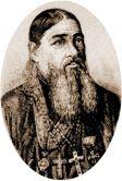 Прот. Иоанн Григорович. Гравюра А. С. Янова. Кон. XIX в.