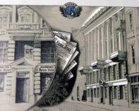 Дом в Вильно, в котором размещалось издательство газеты «Наша доля»